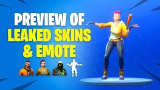 FULL PREVIEW of LEAKED Maverick, Shade, Archetype, & Living Large Emote - Fortnite Battle Royale