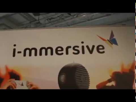 i-mmersive VEYE 360° camera on Republica exhibition 2016 in Berlin
