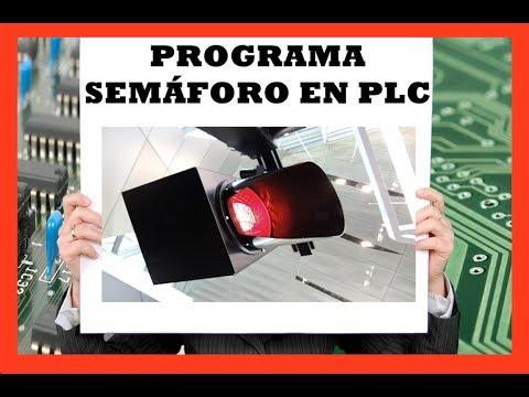 Como programar un semáforo con parpadeo y uso de contadores en PLC