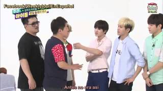 [Sub Español] 140625 Weekly Idol INFINITE- Parte 2/2