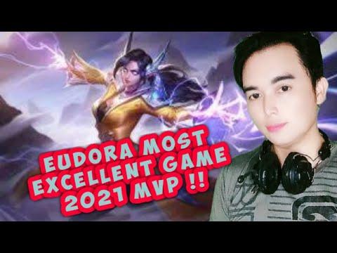 EUDORA MOST EXCELLENT GAME  2021 MVP l MOBILE LEGEND GAME |