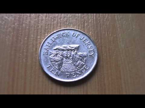 10 Pence Bailiwick of Jersey coin of United Kingdom