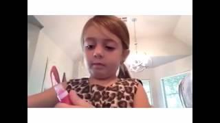 Урок мейкапа от маленькой модницы - БАТЯ Б