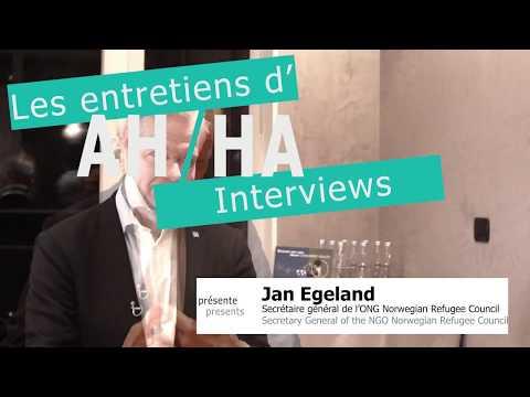 Jan Egeland - Secretary General of the NGO Norwegian Refugee Council - Teaser