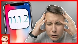 БЕСИТ iPHONE X НА iOS 11.1.2!