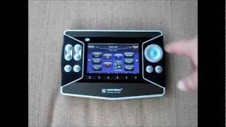 urc mx 6000 touchscreen remote
