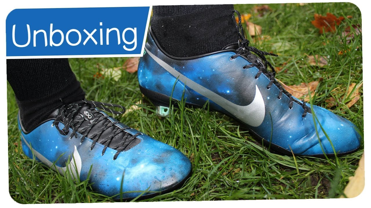 unboxing on feet review of nike mercurial galaxy cr7 edition youtube