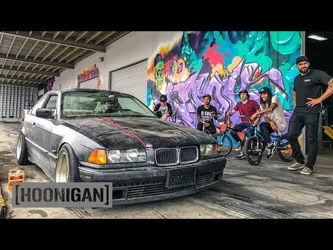 [HOONIGAN] DT 060: BMX Kids Abuse $350 BMW E36