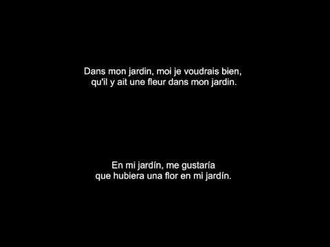 Le petit jardin (Manu Chao): subtitulada español y francés - YouTube