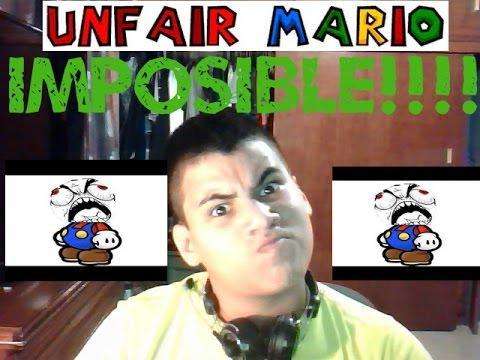 Unfair Mario 2.0 /// Parte 2  Esto es IMPOSIBLE!!!!