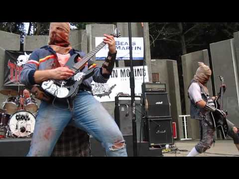 GHOUL (live) @ Tidal Wave 2012 Free Metal concert 7.15.2012 (day-2) full set