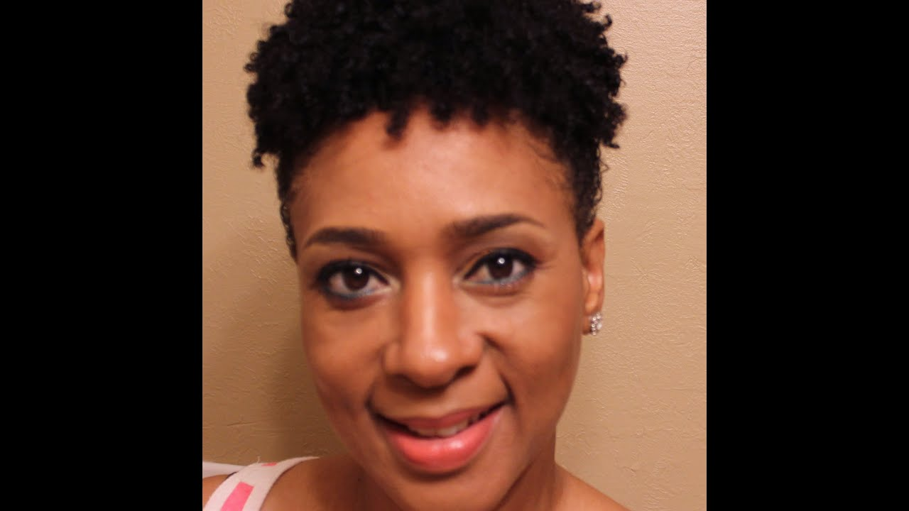 Refreshing Wash N Go Curls Updo Natural Hair Style Youtube