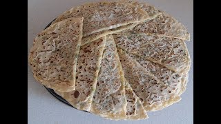 Ispanaklı Peynirli Gözleme Tarifi - Sahura Özel - Ev Yapımı Gözleme