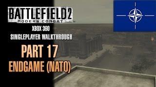 Battlefield 2: Modern Combat Walkthrough (Xbox 360) - Part 17 - End Game (NATO)