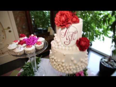 Торт для необычной - золотой свадьбы!