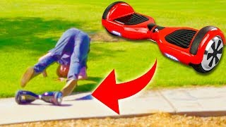 HOVERBOARD BAIT PRANK PART 3!!