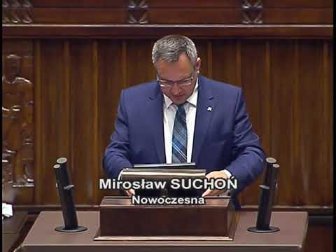Mirosław Suchoń – wystąpienie z 9 listopada 2017 r.