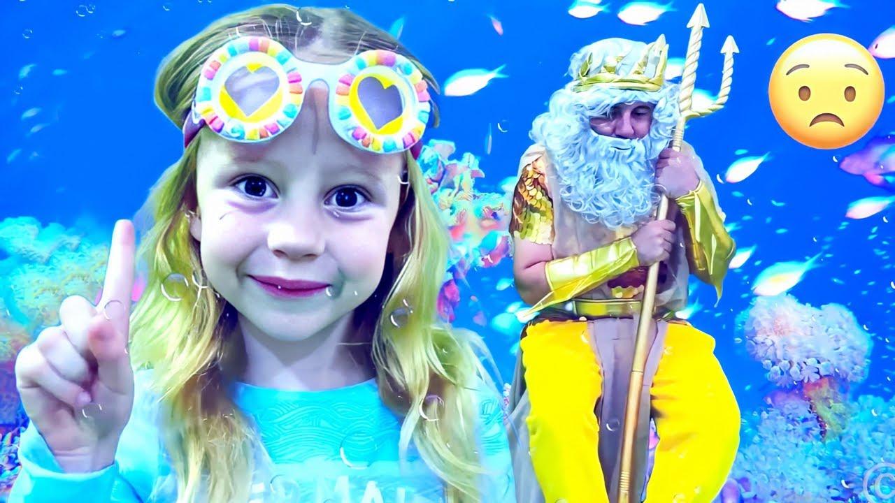 Download Nastya et papa ont trouvé un trésor dans la mer