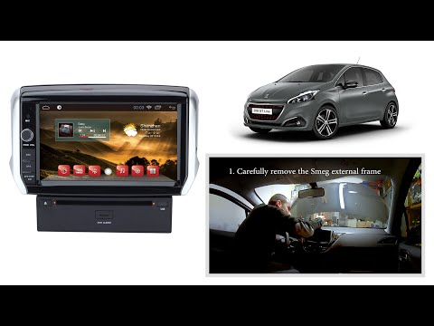 Android Head Unit For Peugeot 208 - [HOW TO INSTALL]