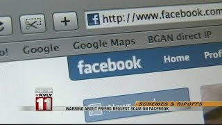 Friend Request Scam On Facebook