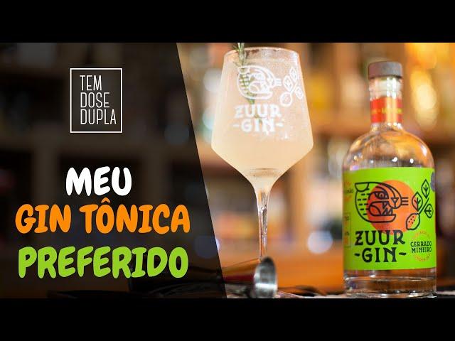 RECEITA DE GIN TÔNICA - Essa é a que MAIS GOSTO