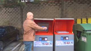 How to ues food waste Machine in S.Korea.