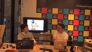 2013/10/4 MMS第66回放送「世界一ワクワクする印刷工場が原宿に!」 Happy Printers 堀江賢司さま