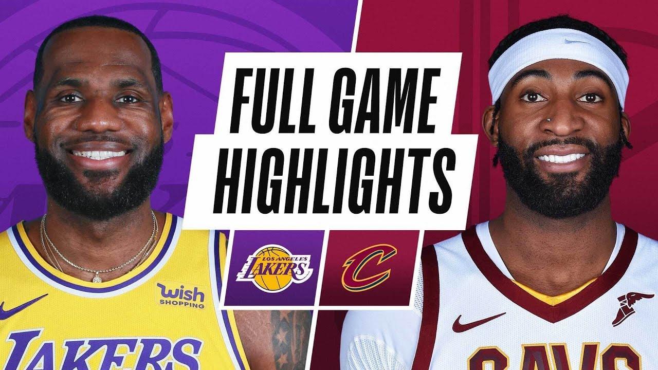 Game Recap: Lakers 115, Cavaliers 108