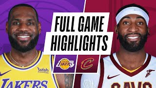 Game Recap: Lakers 115, Cavaliers 108