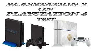 PS2 Games on PS4   (2019) (Test)