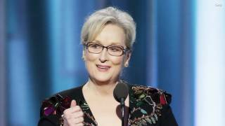 Meryl Streep calls out Donald Trump at the Golden Globes