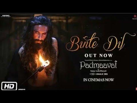 Download Padmaavat : Binte Dil Video Song | Arijit Singh | Ranveer Singh | Deepika Padukone | Shahid Kapoor
