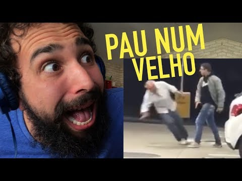 FAGUNDES FAKE APANHOU NO POSTO - MURILO COUTO REACT