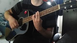 скажи хоть слово скажи на гитаре Cover