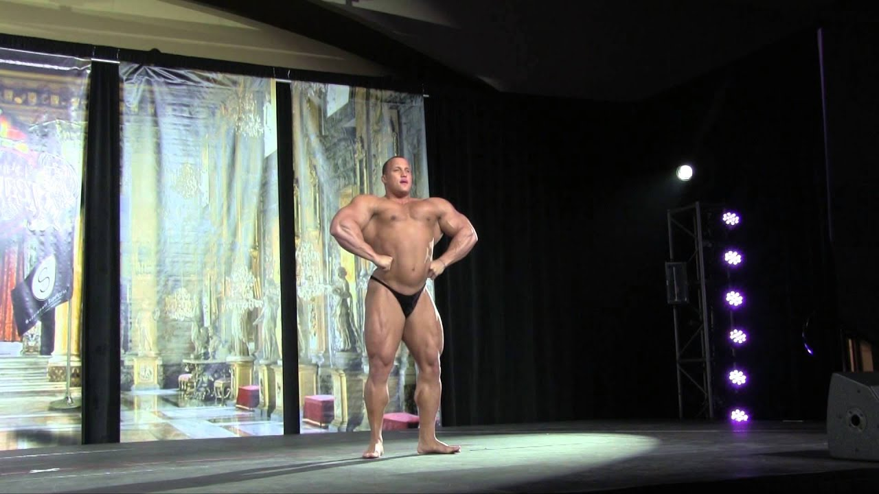 Download IFBB Pro Kevin Jordan guest posing at the 2014 St Louis Pro!