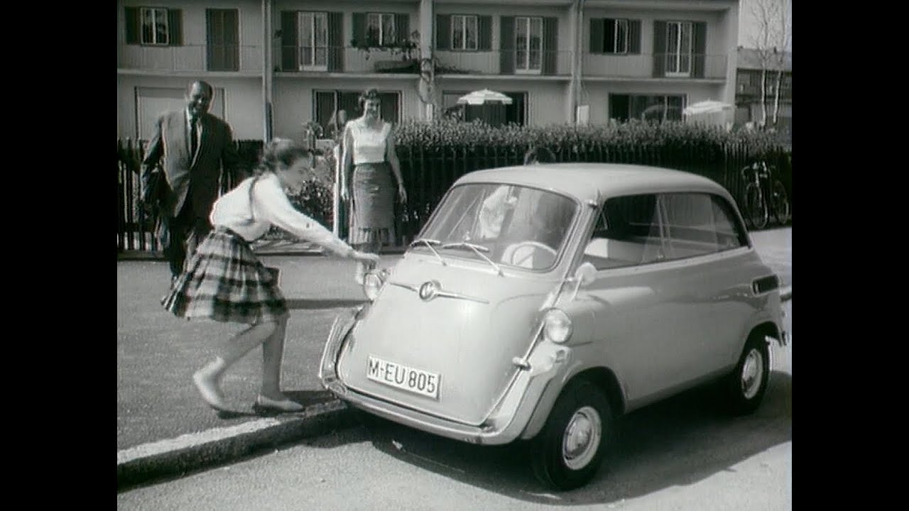 bmw isetta 1955 1962 youtube. Black Bedroom Furniture Sets. Home Design Ideas