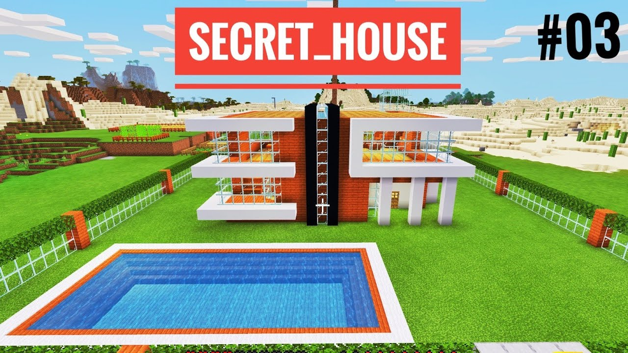 Finally ! I Made My Dream Secret House In Minecraft ...