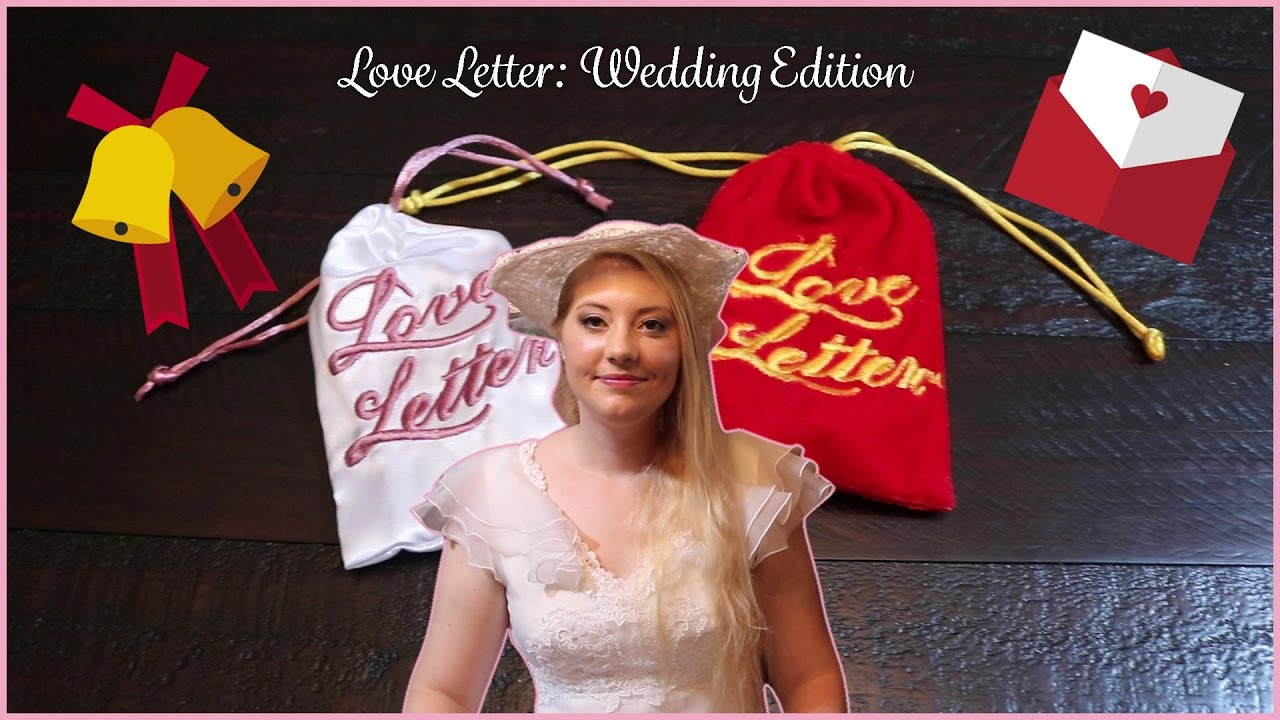 Love Letter: Wedding Edition   Wedding Favor Review   YouTube