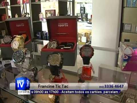 352df6308a0 JÓIAS RELÓGIOS PERFUMES EM ARARAQUARA - FRANCINE TIC TAC - S30 - YouTube