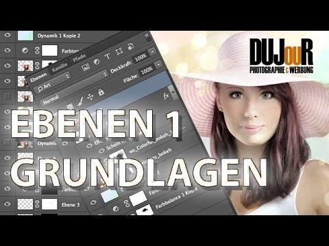Photoshop Ebenen Grundlagen ( Tutorial Deutsch / German )