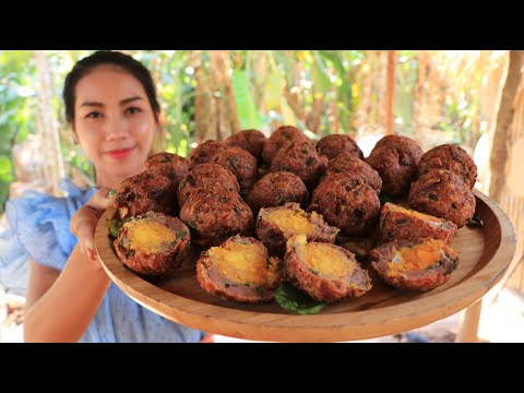 Egg Salt Crispy With Pork Recipe Cooking By Natural Life TV