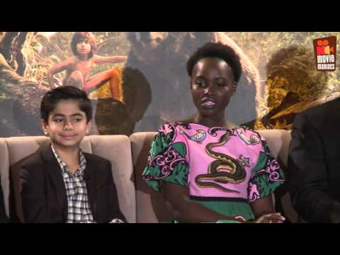 The Jungle Book | full press conference Los Angeles (2016)