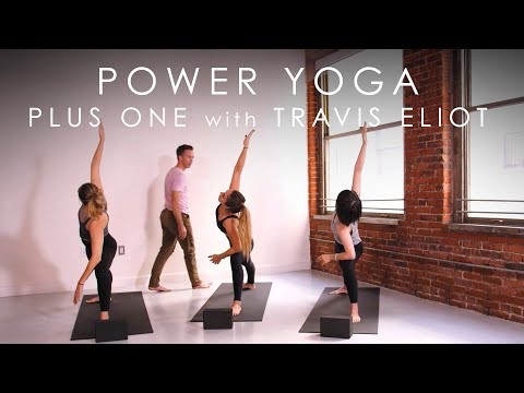 """20min. Power Yoga """"Plus One"""" with Travis Eliot – Inner Dimension TV"""