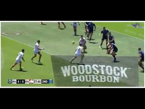 (HD) NRL Auckland Nines 2017 Cowboys V Rabbitohs Game 23 Game Highlights Rugby League