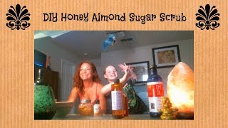 Honey Almond Sugar Scrub DIY