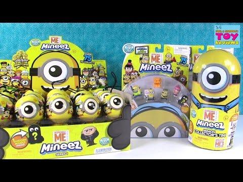 Minions Mineez Despicable Me Squishy Blind Bag Figures Toy