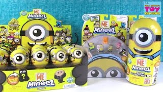 Minions Mineez Huge Palooza Collectors Tin Opening Toy Review | PSToyReviews