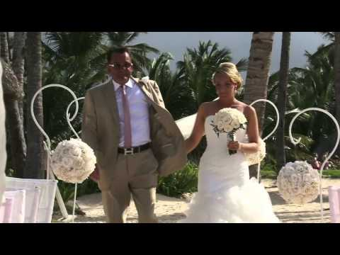 Punta Cana Luxury Wedding Party - June19 2013 Wedding Trailer DREAMS PALM BEACH