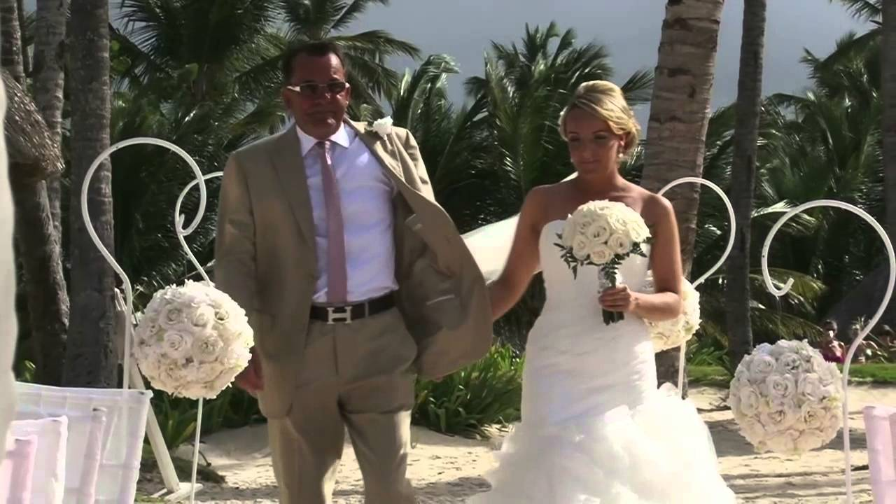 Punta Cana Luxury Wedding Party June19 2017 Trailer Dreams Palm Beach You