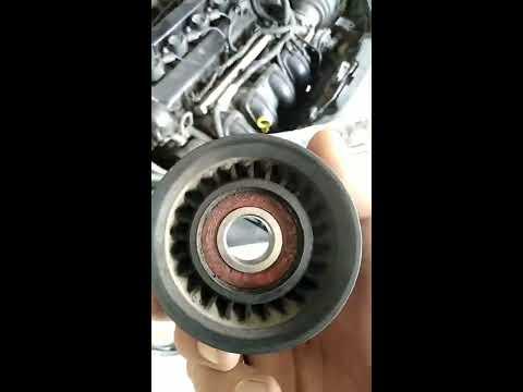 Замена прокладки клапанной крышки и натяжительного ролика на форд фокус 2 1.8